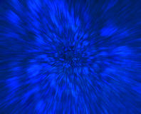 Blue science fiction art abstract background Royalty Free Stock Images