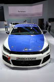 Blue Scirocco Stock Image