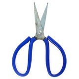 Blue scissors Royalty Free Stock Images