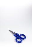 Blue scissors Stock Photo