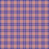 Blue scottish pattern Royalty Free Stock Photo
