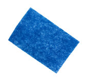 Blue Scouring Pad Royalty Free Stock Image