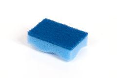 Blue scouring sponge Stock Photography