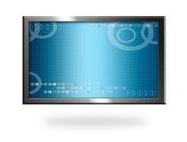 Blue screen Royalty Free Stock Photos