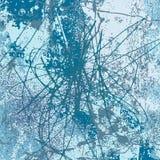 Blue scribble background vector vector illustration