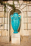 Blue sculpture Royalty Free Stock Images
