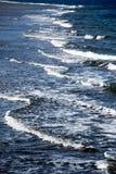 The blue sea Stock Image