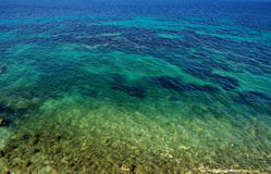 Blue sea Royalty Free Stock Images