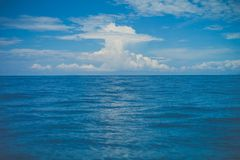 Blue sea Stock Photography