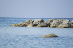 Blue sea Royalty Free Stock Image