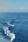 The blue sea. In Italy - Sardinia Stock Photo