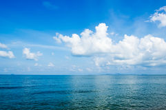 Blue Sea Royalty Free Stock Photos