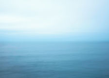 Blue sea abstract Stock Photo