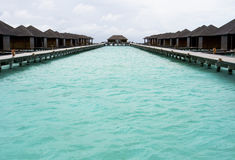 Free Blue Sea And Holiday Chalets Stock Photos - 16067553