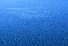 Blue sea background Stock Images