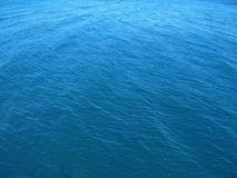 Blue sea background Stock Image