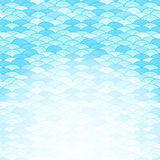 Blue Sea Background Royalty Free Stock Images