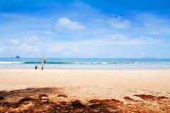 Blue sea and beach Royalty Free Stock Photo
