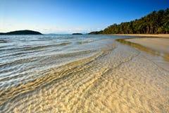 Blue sea , beautiful beach Royalty Free Stock Photo