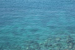 Blue sea. Beautiful blue sea in Thailand. clear water Royalty Free Stock Photos