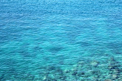 Blue sea. Beautiful blue sea in Thailand. Clear water Stock Images