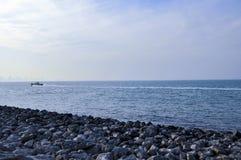 The blue sea Royalty Free Stock Photo