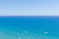 Blue sea horizon background Royalty Free Stock Photos