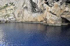 Blue sea at Ibiza Royalty Free Stock Photos