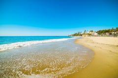 Blue sea in Laguna Beach Stock Images