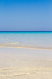 Blue Sea at Lampedusa Royalty Free Stock Images