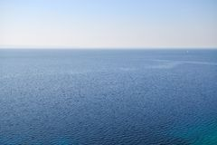 Blue sea landscape Stock Images