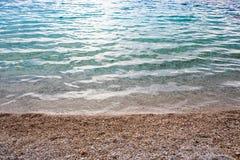 Blue sea or ocean shore Stock Photography