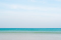 Blue sea at Patong beach Stock Photography