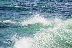 Blue Sea Royalty Free Stock Photography