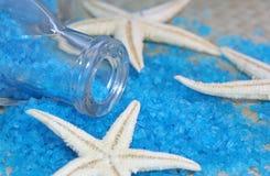 Blue sea salt Royalty Free Stock Image