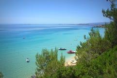 Blue sea serenity Stock Image