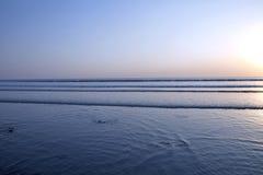 Blue sea shore Royalty Free Stock Photo