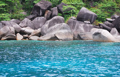 Blue Sea, Similan Stock Image