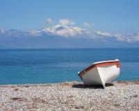 Blue sea and sky Stock Photo
