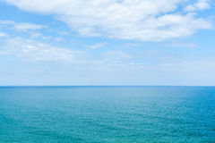 The blue sea and the sky Royalty Free Stock Images