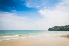 Blue sea and sky Royalty Free Stock Image