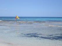 Blue sea and sky Stock Image