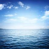 Blue sea Royalty Free Stock Photos