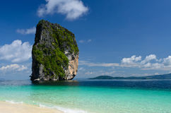 Blue sea and sky of Thailand Stock Photos