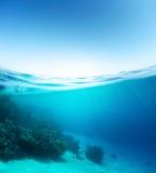 Blue sea Royalty Free Stock Photo