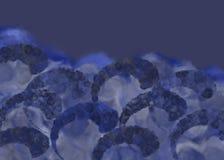 blue sea storm Διανυσματική απεικόνιση