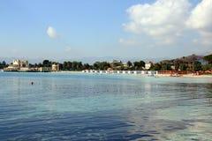 Blue Sea & Summer Beach, Italy Stock Image