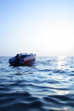 Blue sea and sun Royalty Free Stock Image