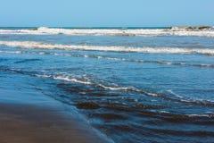 Blue sea, surf Stock Photo