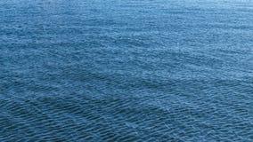Blue sea surface. Royalty Free Stock Photos